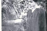 "Konstantinos Ginakos, one of the two leasers of ""Patris"" with this wife Marika. Mr. Ginakos was one of the victims that got lost during the sinking of ""Patris"" (archive G. Chronis)"