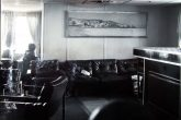 The lounge of M/S Chrissi Avgi.(Archive Philip Tarlow).http://philiptarlow.com/